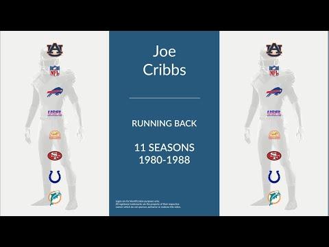 Joe Cribbs: Football Running Back