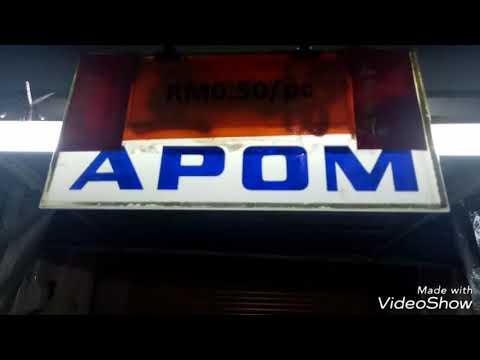 APOM ขนมที่หาทานได้ง่ายในเมือง Penang