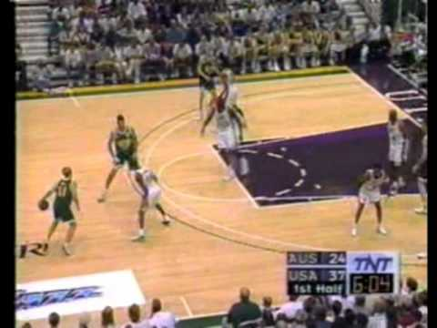 1996 Team USA (Dream Team III) vs. Australia