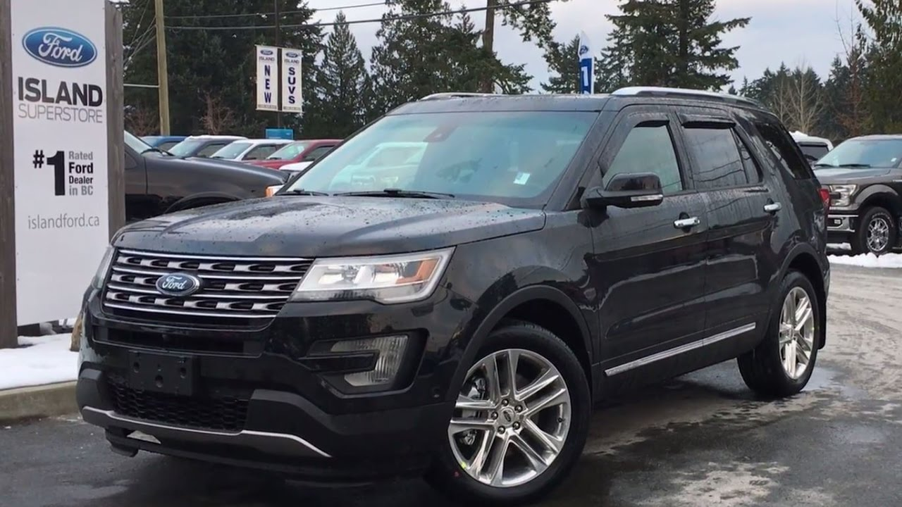 2016 Ford Explorer Limited >> 2017 Ford Explorer Limited W/ Navigation + Active Park ...
