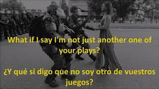 Foo Fighters - The Pretender - Subtitulos en inglés y español