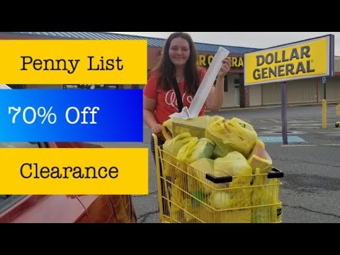 Penny List & 70% Off Clearance At Dollar General 12/31/19