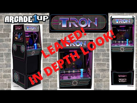 Arcade1up - In Depth Look at Tron - Leaked Info!! from PsykoGamer