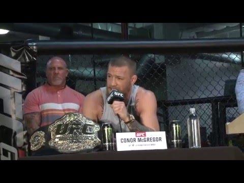 UFC 196 Conor McGregor Vs. Nate Diaz Full Press Conference