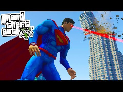 GTA 5: SUPERMAN Vs The City!! 💥🙀 (GTA 5 Mod Gameplay)