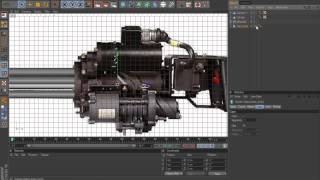 Minigun Modelling Tutorial Cinema 4D Part 1