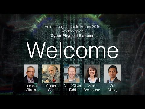 Cyber Physical Systems Workshop at the 4th Heidelberg Laureate Forum 2016
