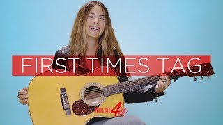 Sofía Ellar nos habla de sus PRIMERAS VECES   First times tag