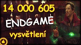 PROČ 14 000 605  + Endgame ??? VYSVĚTLENO