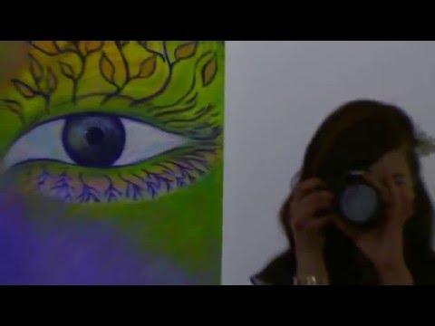 retrospective solo art show Milan Vujosevic at Think Tank gallery