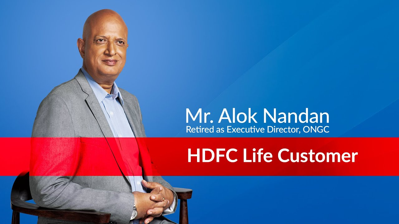 My First Salary After Retirement by HDFC Life, Alok Nandan, retd. E.D. - ONGC | Financial Planning