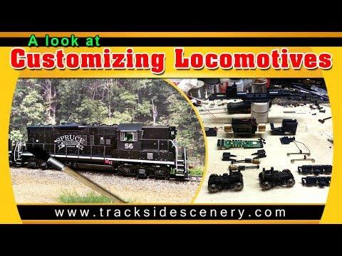 A Look at Customizing Locomotives
