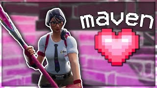 MAVEN SKIN 💖 (Fortnite Edit)