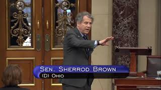 Brown Takes to Senate Floor, Blasts Trump Administration Response to COVID-19