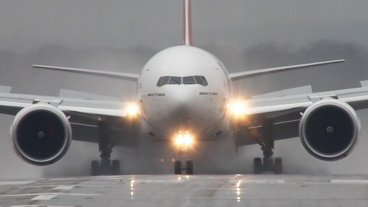 Обои авиалайнер, 777, пассажирский, boeing, Самолёт, боинг, 300-er. Авиация foto 8