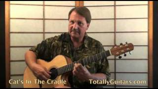 Harry Chapin - Cats In The Cradle Guitar Lesson