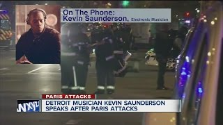Detroit techno musician Kevin Saunderson speaks after Paris attacks