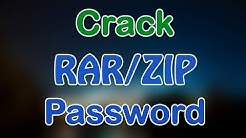 How to crack ZIP/RAR Password Online