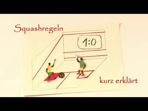 Squash - Regeln kurz erklärt [07/2016]