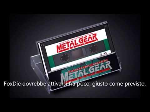 Metal Gear Solid  Discorso finale