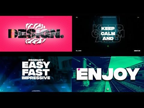 After Effects Template: Stompu0026Claps Intro 2 In 1