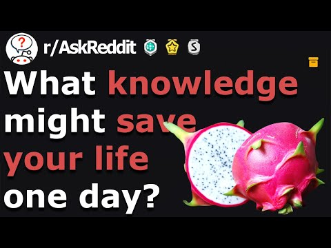 This Could Save Your Life One Day (r/AskReddit)