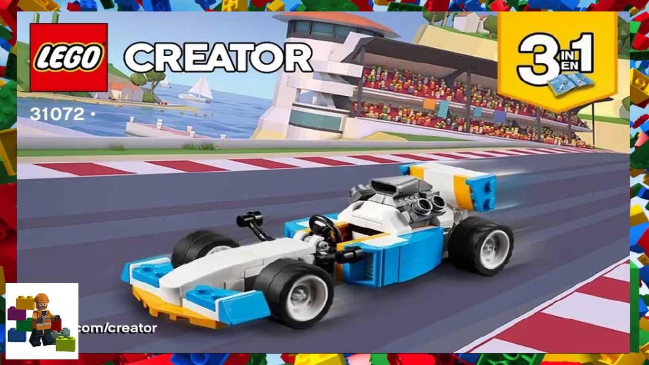 Lego Instructions Creator 31072 Extreme Engines Book 1 Youtube