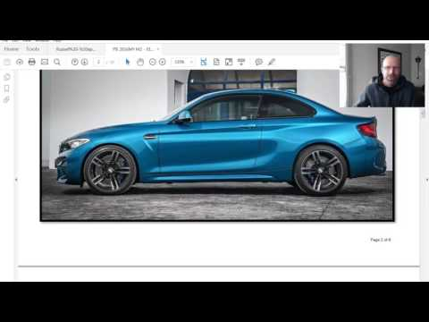 BMW M2 Product Bulletin $61,000 CAN