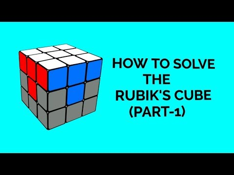 How to solve the Rubik's Cube(Part-1)