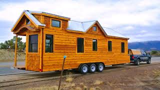 Tiny House Plans On Fifth Wheel Trailer  See Description
