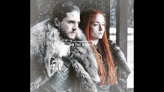 Jon Snow Sansa Stark Ramsey Beautiful crime