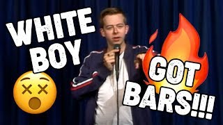 White Boy spits INSANE off the dome freestyle rap - Live!
