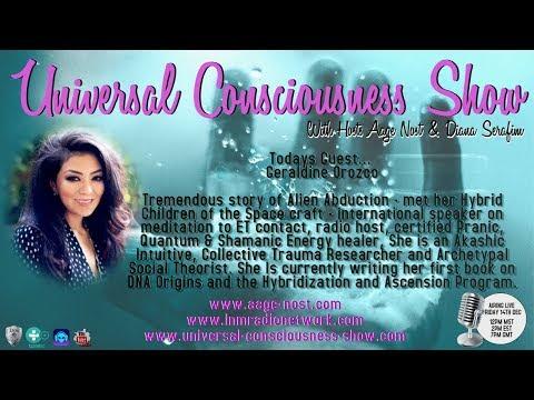 Geraldine Orozco ---  Universal Consciousness Show 12-14-18