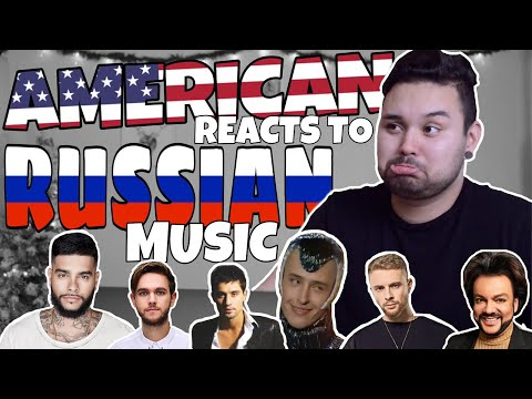 American REACTS  Russian