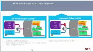Citrix 7.12 HDX with Enlightened Data Transport