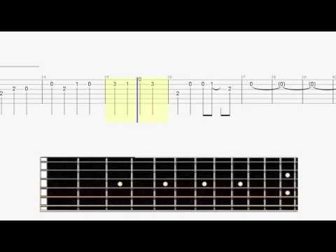Legend of Zelda - Clock Town - Easy Guitar Tab