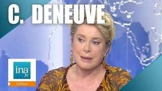 """Catherine Deneuve """"Il faut de l'incertitude et du doute""""   Archive INA"""
