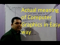 Lec-01 Introduction to Computer Graphics