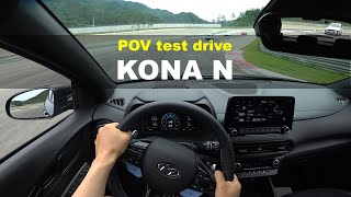 Hyundai KONA N 2 0T GDi POV test drive
