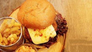 Meatless Burger - Easy & Quick Recipe
