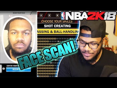 NBA 2k18 MyCAREER Prelude  PERFECT FACESCAN! Marcus Gento is BACK!
