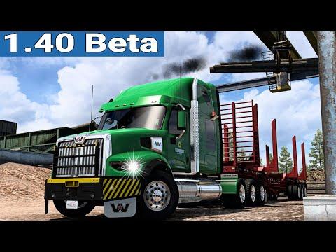 ATS 1.40 Open Beta ★ Western Star 49X - Oregon