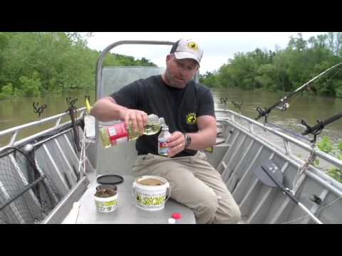 How to rig chicken liver catfishing funnydog tv for Best catfish rig for bank fishing