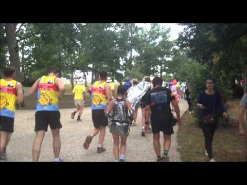 Jamie Goode runs the Marathon du Medoc