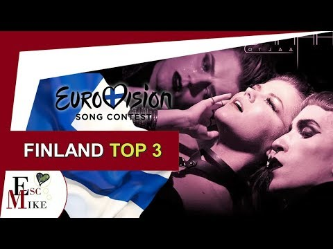 Eurovision Finland 2018 [SAARA AALTO] - My Top 3 [with RATING]