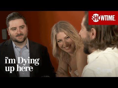 Ari Graynor & Michael Angarano on Preparing for Their Roles  I'm Dying Up Here  Season 1