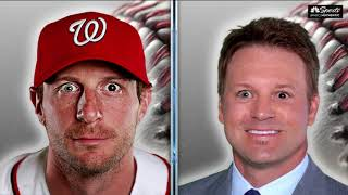 What would Ahmed, Shawn and Bill look like with Max Scherzer's eyes?   Giants Pregame Live