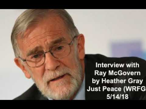 Interview with Ray McGovern - former CIA analyst - on torture and Israel violence