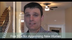 Portland Appraiser -- Tips for Appraisals of New Homes -- 503-781-5646