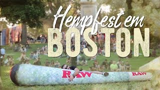 ???? Festival da Maconha em Boston | Boston Freedom Rally 2018 | Milhados